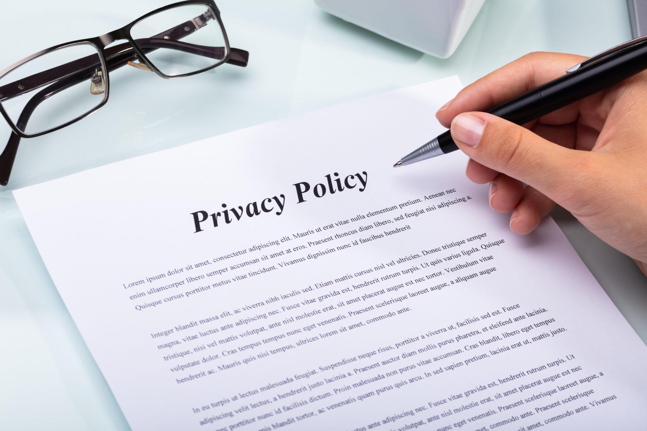 プライバシーポリシー及び特定商取引法に基づく表示